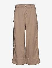 ODD MOLLY - Day Dreamer Pants - bukser med brede ben - sandstorm - 0