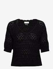ODD MOLLY - Lucky Charm Sweater - hauts tricotés - black - 0