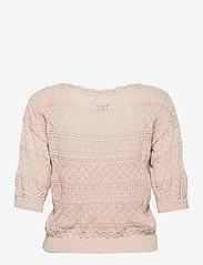 ODD MOLLY - Lucky Charm Sweater - hauts tricotés - light porcelain - 1