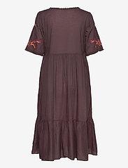 ODD MOLLY - Free The Flower Dress - midi kjoler - brown ash - 1