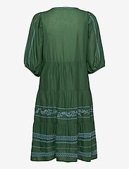 ODD MOLLY - Mariah Dress - midiklänningar - tropical green - 1