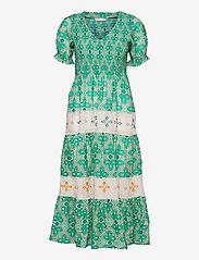 Jovena Dress - SPARKLING GREEN