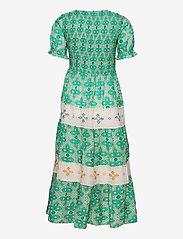 ODD MOLLY - Jovena Dress - sommerkjoler - sparkling green - 2