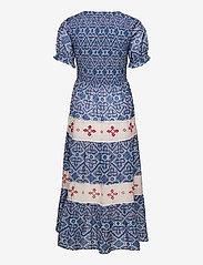 ODD MOLLY - Jovena Dress - sommerkjoler - summer blue - 2