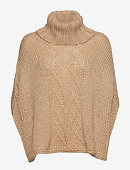 ODD MOLLY - Significant Other Poncho - ponchos & capes - soft camel - 1