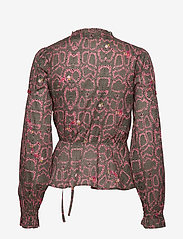 ODD MOLLY - For The Love Of Lust Blouse - blouses à manches longues - almost black - 2
