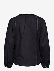 ODD MOLLY - Rachelle Blouse - long sleeved blouses - almost black - 2