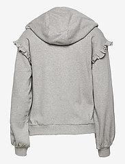 ODD MOLLY - Paulina Hood Sweater - pulls à capuche - light grey melange - 2