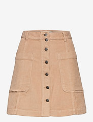 ODD MOLLY - Maya Skirt - korte nederdele - soft taupe - 1