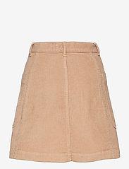 ODD MOLLY - Maya Skirt - korte nederdele - soft taupe - 2