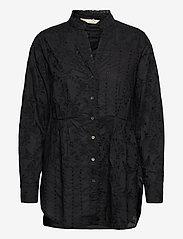 ODD MOLLY - Vivian Shirt - langærmede bluser - almost black - 1