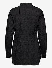 ODD MOLLY - Vivian Shirt - langærmede bluser - almost black - 2
