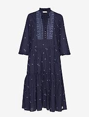 ODD MOLLY - Dance More Dances Dress - robes midi - dark blue - 0