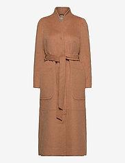 ODD MOLLY - Luna Coat - manteaux en laine - brown mocha - 1