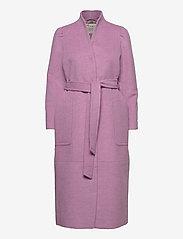 ODD MOLLY - Luna Coat - manteaux en laine - smokey purple - 1