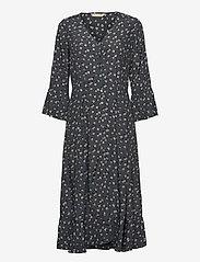 ODD MOLLY - Esmée Long Dress - hverdagskjoler - asphalt - 1