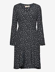 ODD MOLLY - Esmée Dress - hverdagskjoler - asphalt - 0