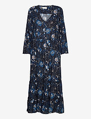 ODD MOLLY - Doreen Dress - midi kjoler - dark blue - 1