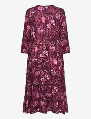 ODD MOLLY - Doreen Dress - midi kjoler - dark purple - 2