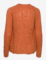 ODD MOLLY - Cozy Hugs Cardigan - gilets - deep orange - 1