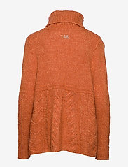 ODD MOLLY - Cozy Hugs Turtleneck - rolkraagtruien - deep orange - 1