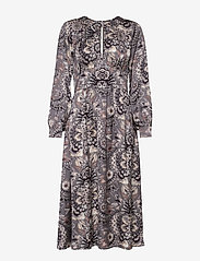 ODD MOLLY - Head Turner Long Dress - robes midi - asphalt - 0