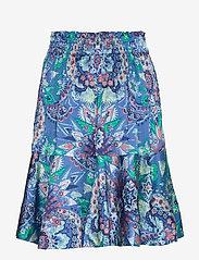ODD MOLLY - Head Turner Skirt - midi rokken - washed cobalt - 1