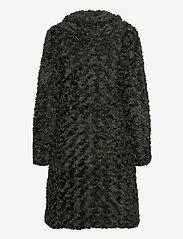 ODD MOLLY - Amandine Long Jacket - fausse fourrure - green asphalt - 3
