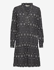 ODD MOLLY - Célia Dress - hverdagskjoler - asphalt - 1