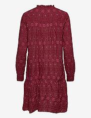 ODD MOLLY - Célia Dress - sommerkjoler - baked burgundy - 2