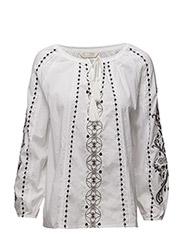 sparkling blouse - BRIGHT WHITE
