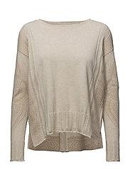 shepherd sweater - LIGHT PORCELAIN
