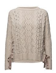 flurry sweater - CHALK