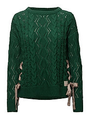 flurry sweater - GREEN