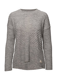 retreat sweater - LIGHT GREY MELANGE