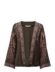 plume kimono - DARK CARGO