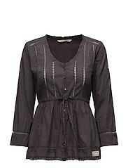success l/s blouse - ASPHALT