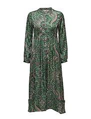 triumph long dress - GREEN