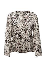 triumph l/s blouse - OFFWHITE