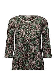 sensation blouse - GREEN