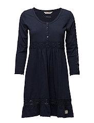charming dress - DARK BLUE