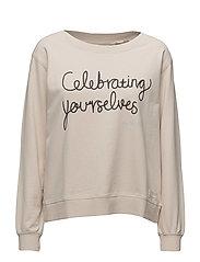 pleasant sweater - LIGHT PORCELAIN