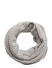 lovely tube scarf - GREY MELANGE
