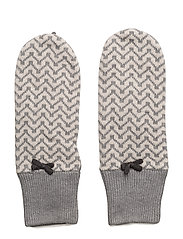 lovely mitten - GREY MELANGE
