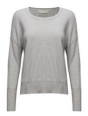 miss soft sweater - LIGHT GREY MELANGE