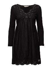 blossom dress - ALMOST BLACK