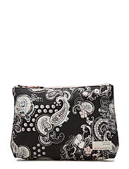itinerary big beauty bag - ALMOST BLACK