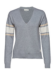 borderlands v-neck sweater