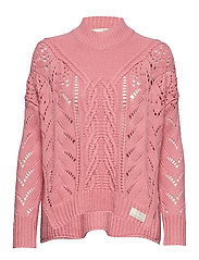 pathways sweater - DUSTED PINK