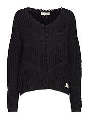 move me sweater - ALMOST BLACK